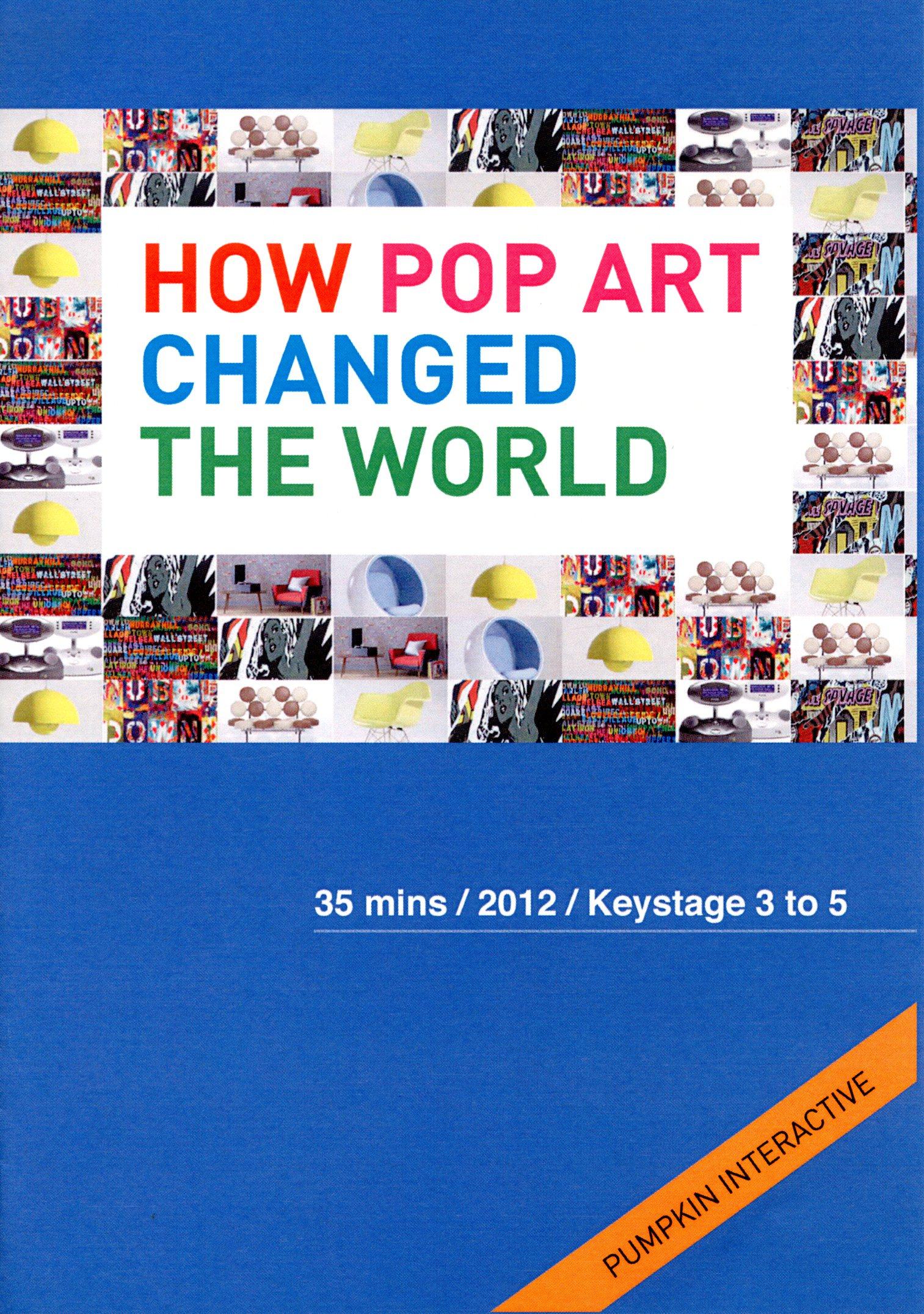 How pop art changed the world 普普藝術風席捲影響商品設計 /
