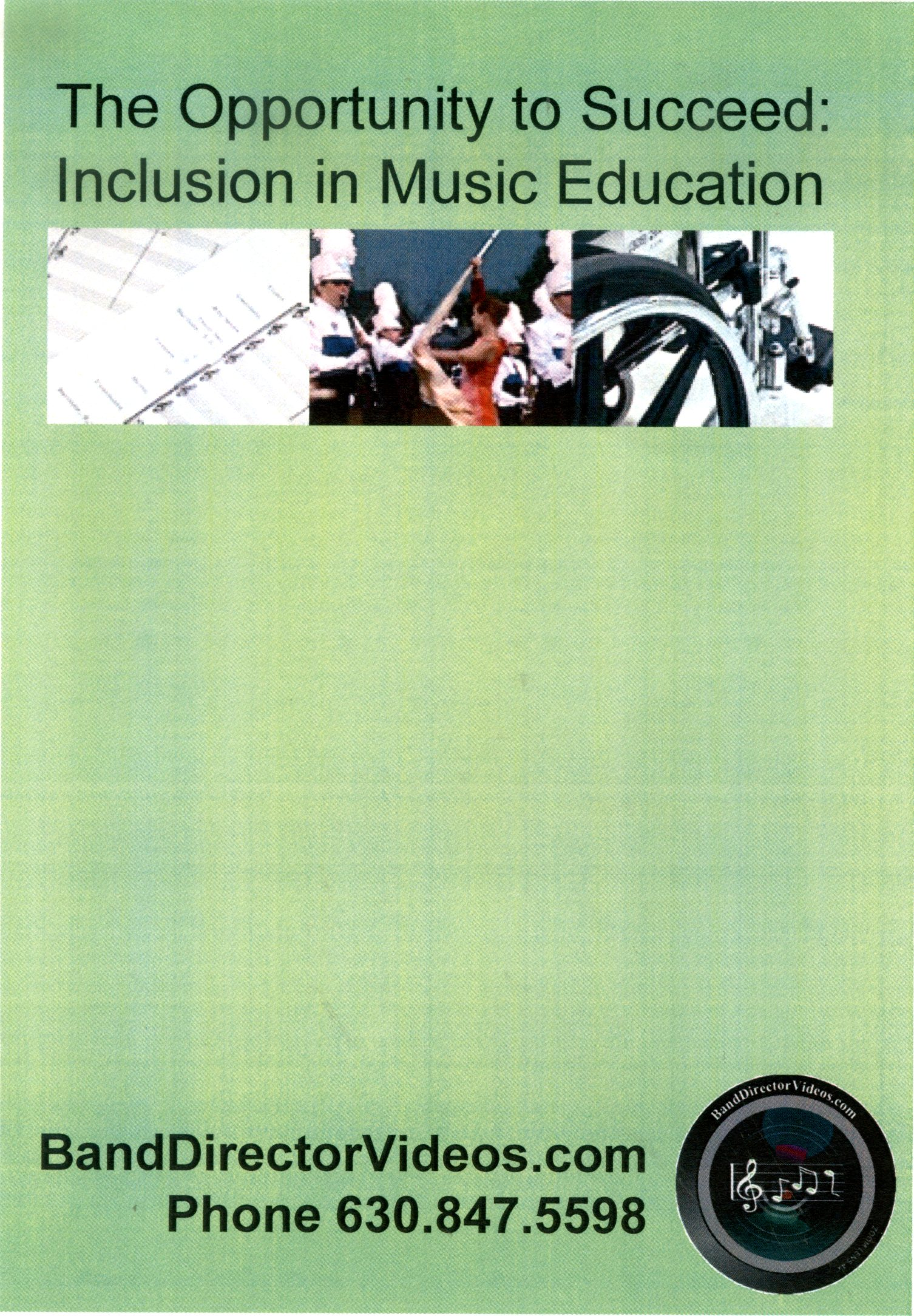 The opportunity to succeed inclusion in music education /