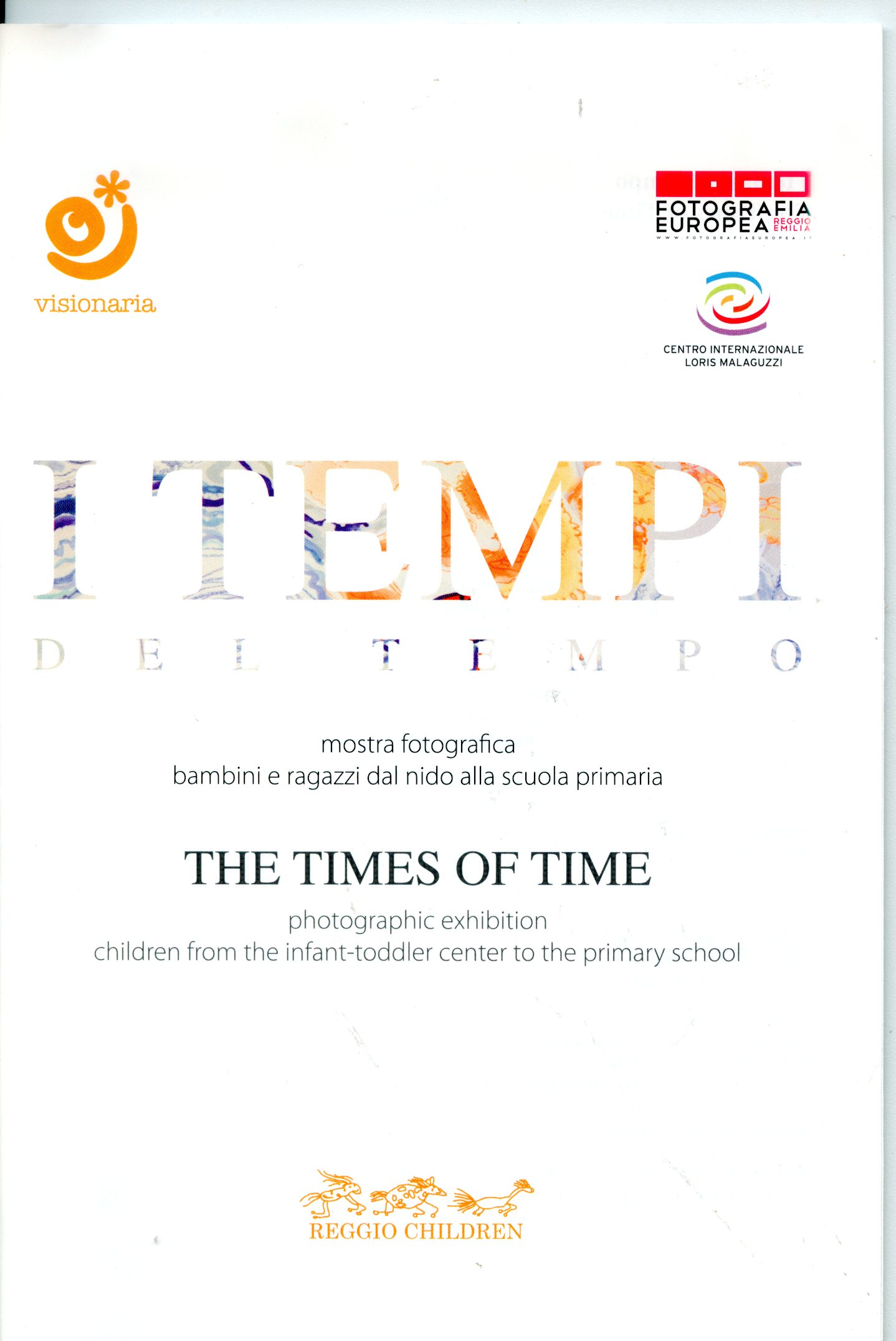 I tempi del tempo the times of time.