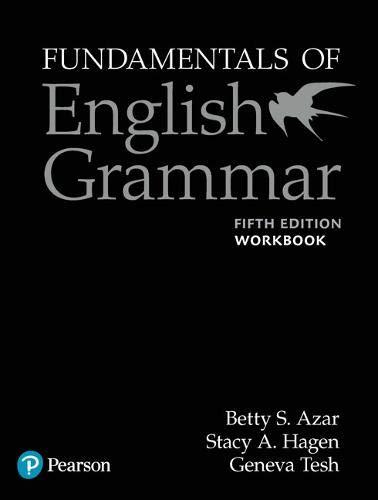Fundamentals of English grammar.