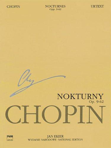 Nokturny op. 9-62 nocturnes opp. 9-62 /