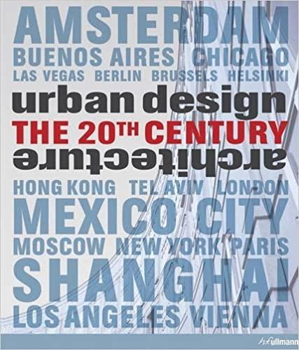 Urban design & architecture :  the 20th century /