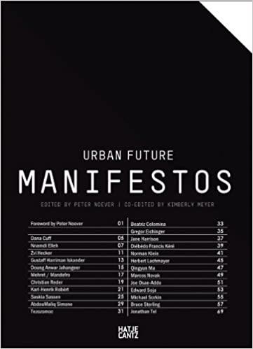 Urban future :  manifestos /