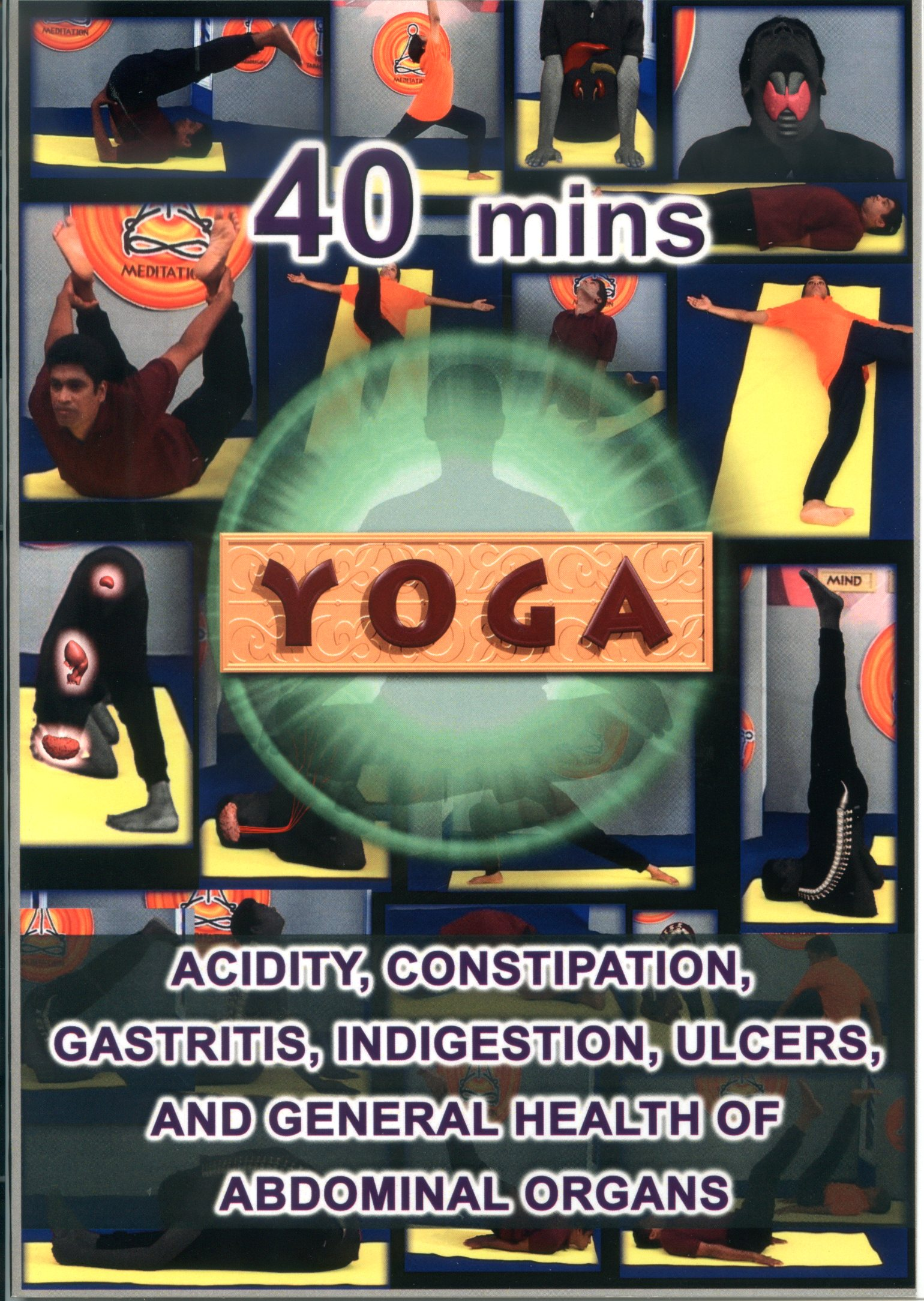 Yoga : acidity, constipation, gastritis, indigestion, ulcers, and general health of abdominal organs